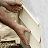low slope roofing icon