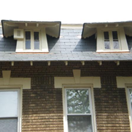Slate Dormer Roof