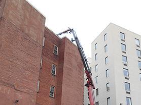 Man on ladder