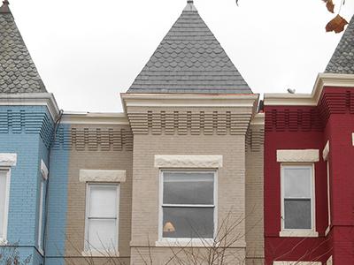 Slate Turret Roof